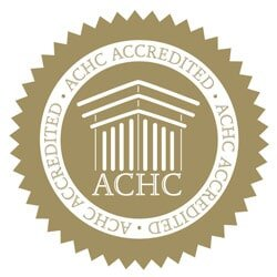 ACHC Rest Assured Hospice Gold Accredited Seal